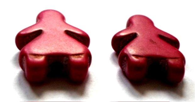 Margele howlit fetita rosu