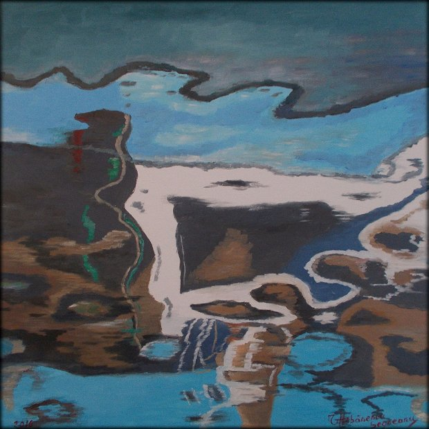 Pictura abstracta - reflexii 7