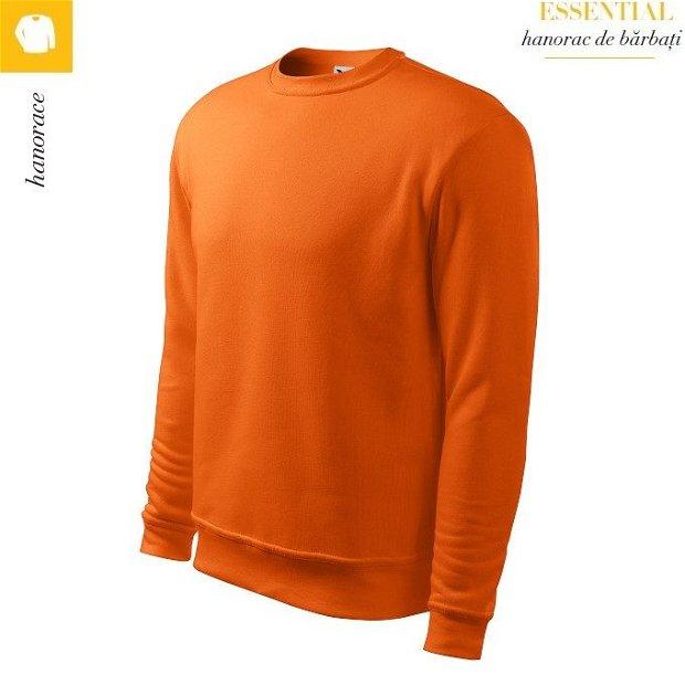 Hanorac portocaliu pentru barbati, Essential 406