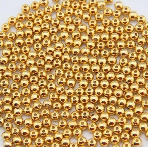 Margele aurite 2.4 mm