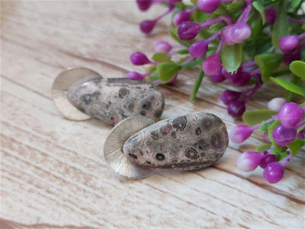 Cercei jasp leopard