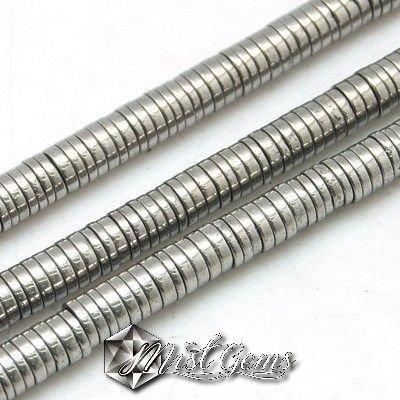 20 buc.Hematit disc -6X2mm SP1034