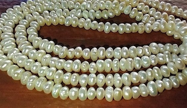 Perle cultura, 79 cm
