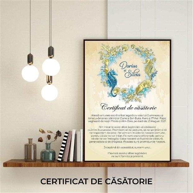 Certificat de căsătorie - OCEAN