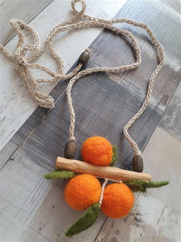 Colier portocale