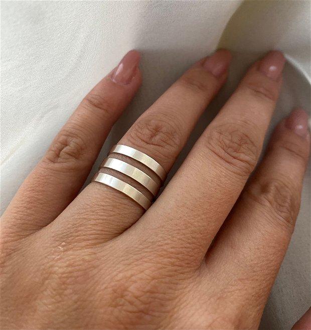Inel argint Plain
