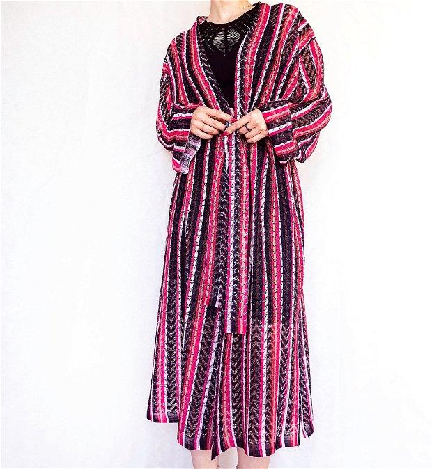 Kimono dantela dungi