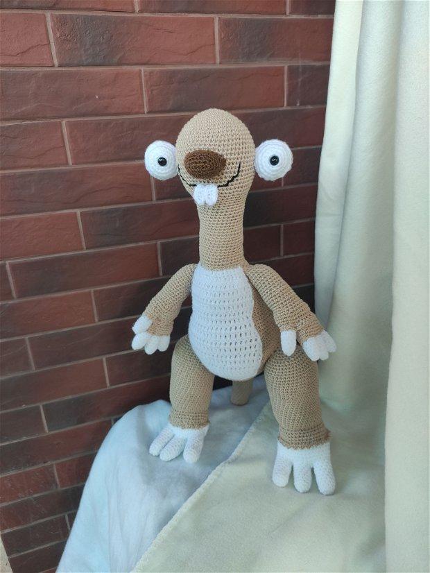 Jucărie croșetată Sid