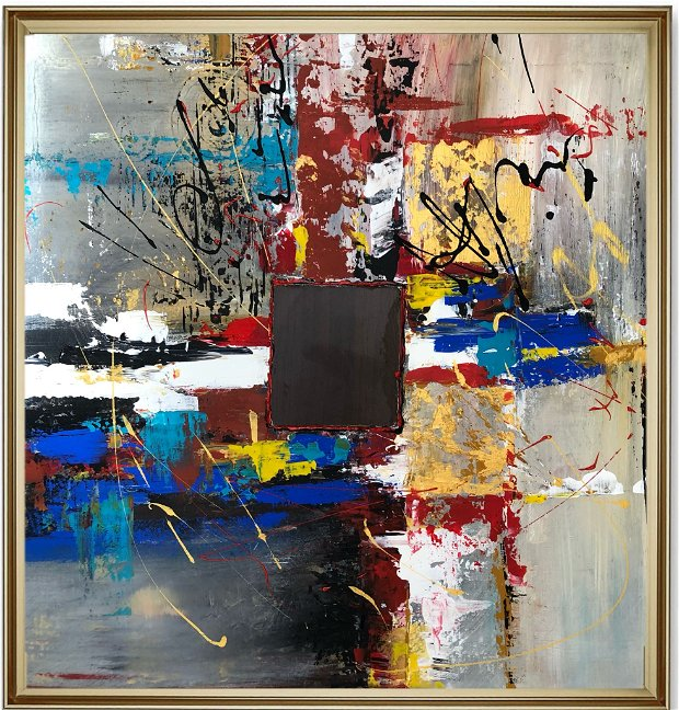 Pictura abstractă - Gossip
