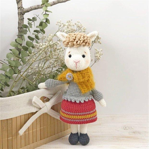 Jucarie crosetata Alpaca