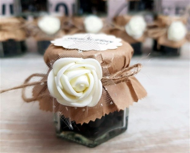 Borcanel Cafea (model romantic)