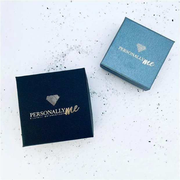 True Friends - Colier argint personalizat - Cristal Swarovski
