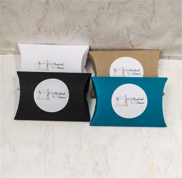 Cutii tip pillow, personalizate
