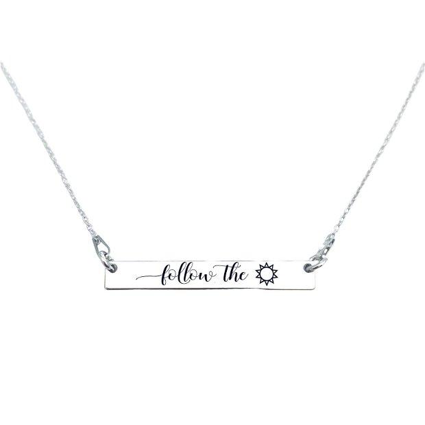 Family is Forever - colier argint - lant argint personalizat