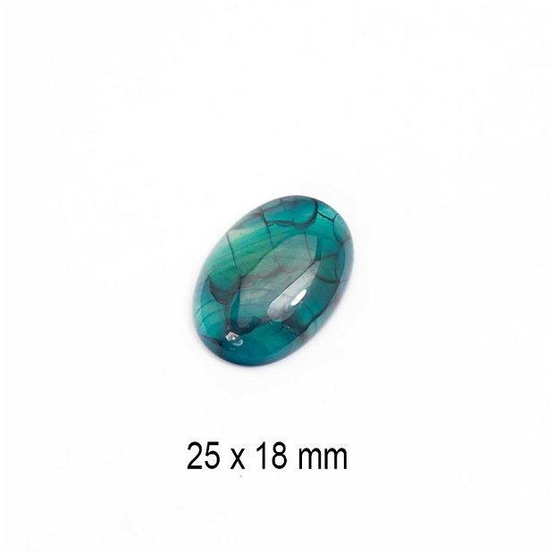 Cabochon Agat, 25 x 18 mm, A633
