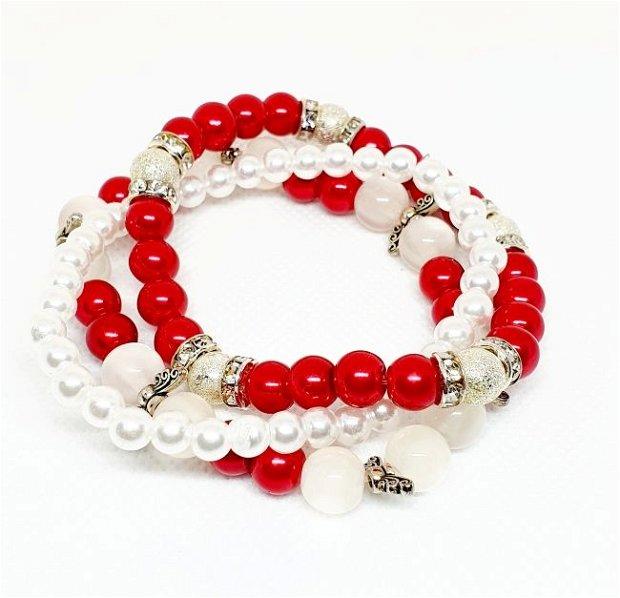 Brățări Red&White