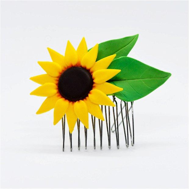 Accesoriu de păr Floarea-Soarelui