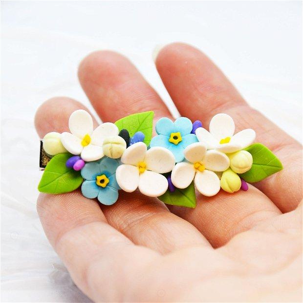 Accesoriu de păr infuzie flori