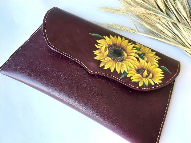 Plic Bordo floarea-soarelui