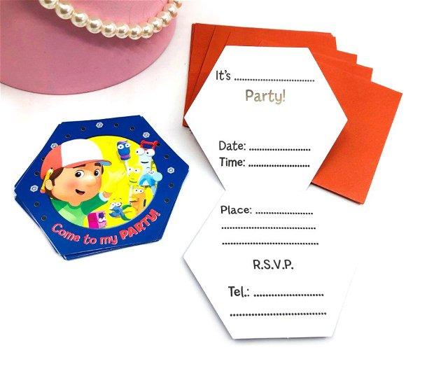 Invitație petrecere baietei