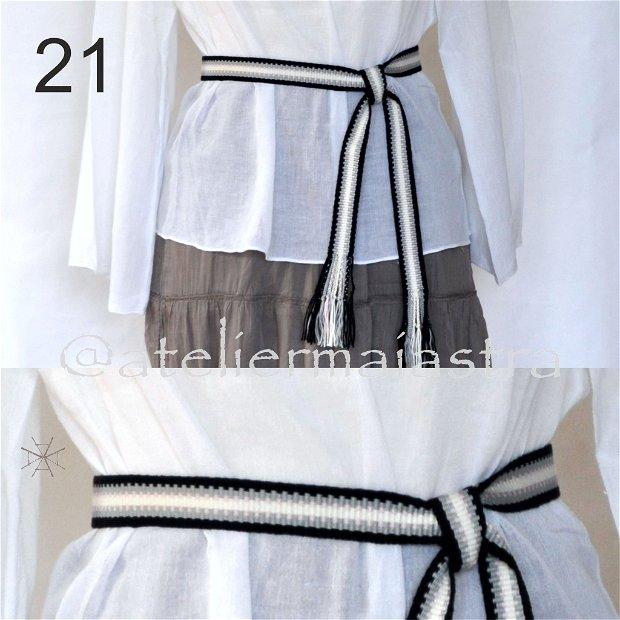 brau tesut manual, brau tesut la razboi, curea handmade, cadou traditional