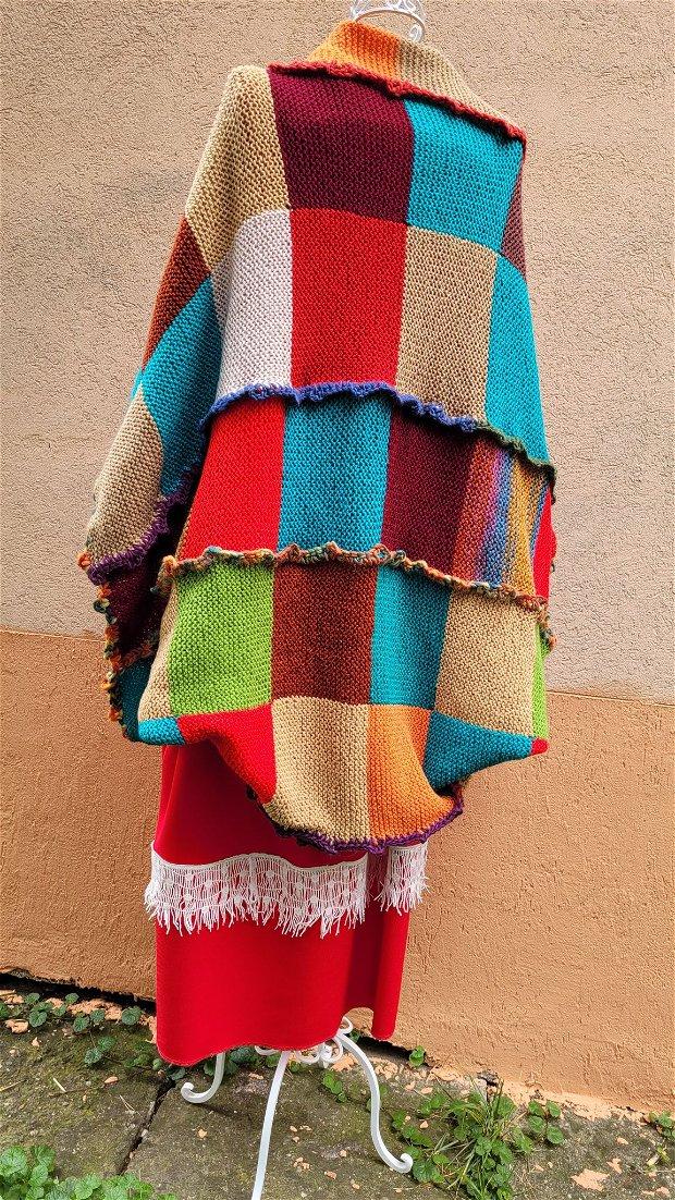 Pulover în culorile toamnei