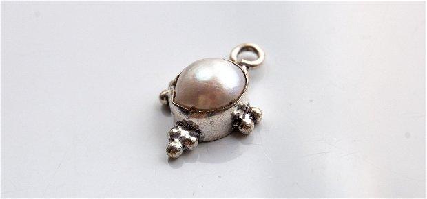 pandant cu perla biwa