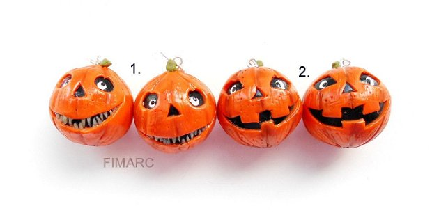 Halloween Pumpkins(mari) - cercei atarnatori