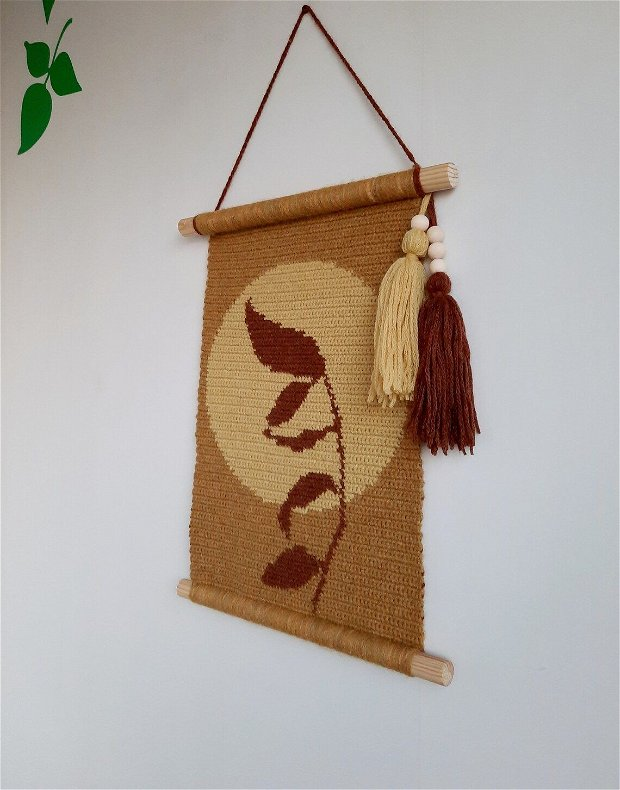 Decoratiune perete (wall hanging) crenguta