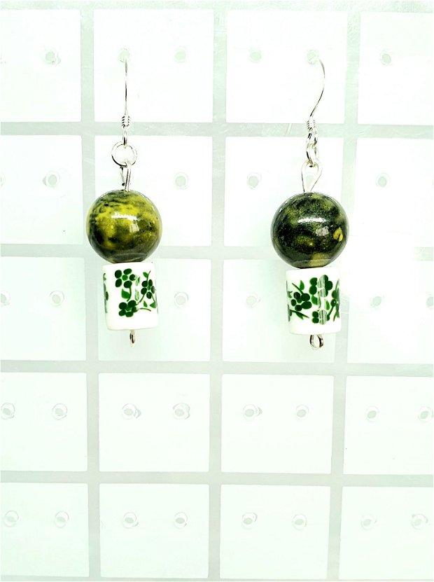 Cercei Green Flowers Porcelain