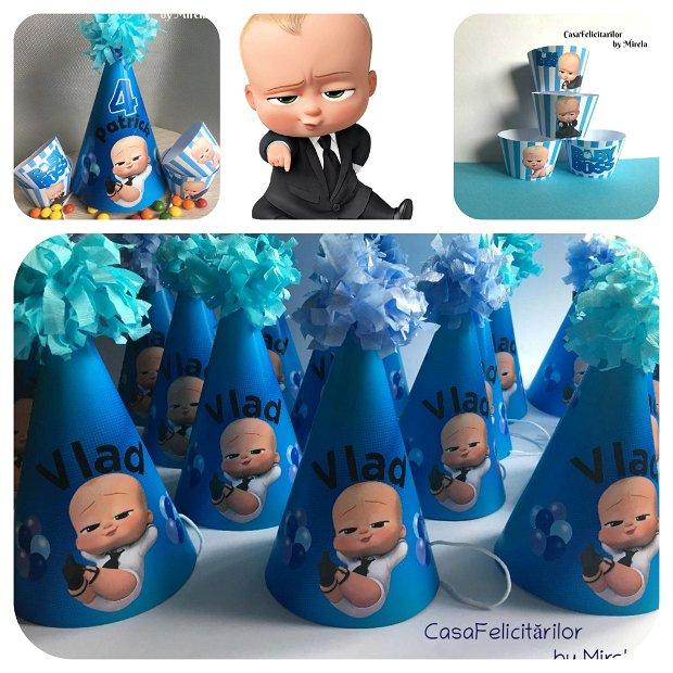 Coif petrecere Baby boss personalizabil