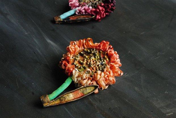 Brosa statement Crizantema