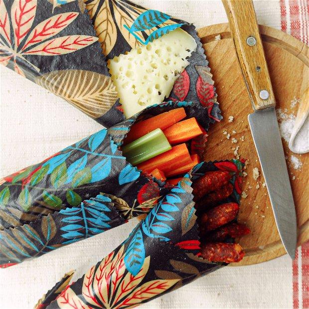 Set MIXT ambalaje cerate pentru alimente   - bee's wrap