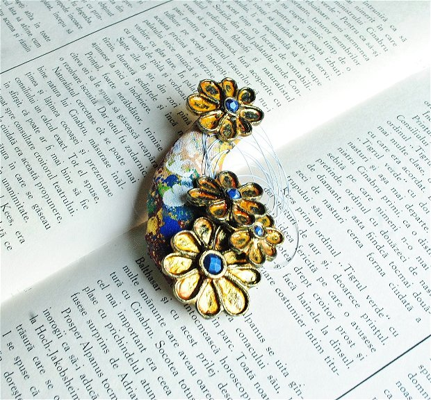 Brosa statement Pave my way with flowers
